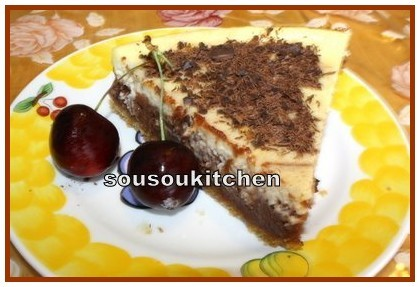 Gâteau au Fromage et Chocolat - Cheese Cake