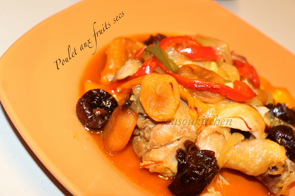 Poulet aux fruits secs3