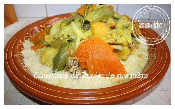 Couscous Au Poulet Et Legumes Sousoukitchen